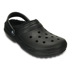 Crocs Classic Fuzz Lined Adult Clogs by