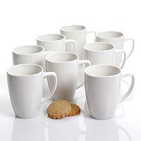 Gibson Home Zen Buffetware 8-pc. Coffee Mug Set