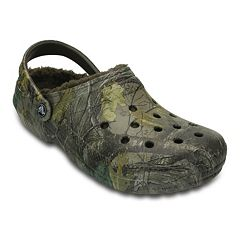 Crocs Classic Realtree Xtra Fuzz Lined Adult Clogs  by