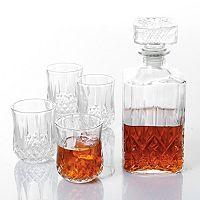 Gibson Home Jewelite 5-pc. Whiskey Decanter Set