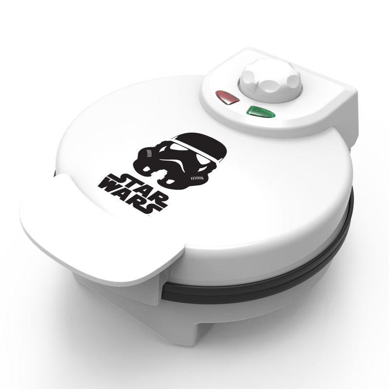 Star Wars Storm Trooper Waffle Maker by Pangea Brands, White