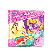 Disney Princess Musical Treasury Read, Sing & Dream Play-a-Song Book