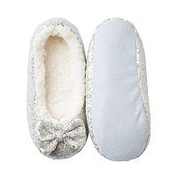 Girls 4-16 Capelli Sequin Ballet Slippers