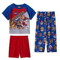 Toddler Boy Paw Patrol Chase, Rubble, Skye & Marshall Pajama Set
