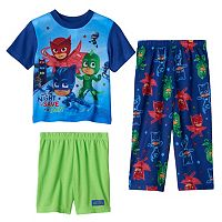 Toddler Boy PJ Masks Gekko, Catboy & Owlette 3-pc. Pajama Set