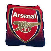 Logo Brand Arsenal F.C. Raschel Throw Blanket