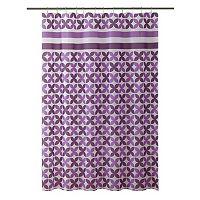 Bath Bliss Pinwheel Shower Curtain