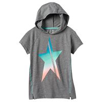 Girls 7-16 & Plus Size SO® Short Sleeve Active Hoodie