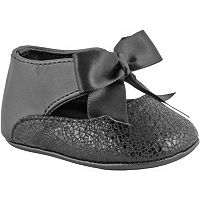 Baby Girl Wee Kids Ankle Strap Bow Dress Crib Shoes