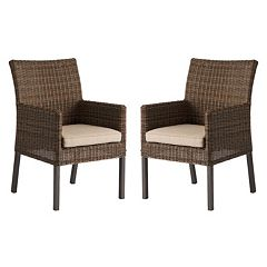 SONOMA Goods for Life Brampton Outdoor Arm Dining Chair 2-piece Set