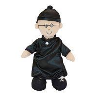 Miniland Etni Fastening Boy Doll With Hat