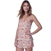 Women's Flora by Flora Nikrooz Wildflower Knit Cami & Shorts Set