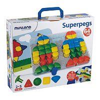 Miniland Educational Super Pegs Set