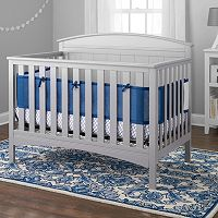 Breathable Baby Cable Weave 4-pc. Crib Bedding Set