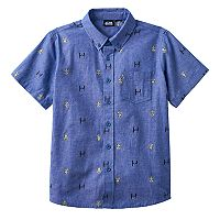 Boys 8-20 Star Wars Darth Vader Button-Down Shirt