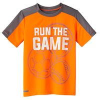 Boys 4-10 Jumping Beans® Play Cool Sporty Graphic & Mesh Tee