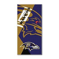 Baltimore Ravens Puzzle Oversize Beach Towel by Northwest