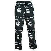Men's College Concepts Michigan State Spartans Wildcard Fleece Pants