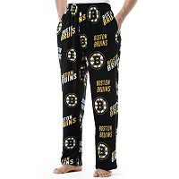 Men's Boston Bruins Wildcard Fleece Lounge Pants