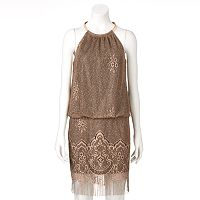 Women's Expo Chain Mesh Blouson Dress