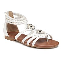 SO® Women's Strappy Ankle Cuff Sandals