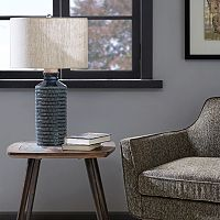 INK + IVY Dash Textured Table Lamp