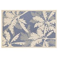 Couristan Monaco Coastal Floral Indoor Outdoor Rug