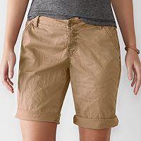 Women's SONOMA Goods for Life™ Chino Bermuda Shorts