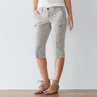 Women's SONOMA Goods for Life™ Comfort Waist Skimmer Shorts