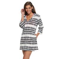 Women's Portocruz Hooded Ikat Cover-Up
