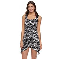 Women's Portocruz Ikat Macrame Shark-Bite Cover-Up