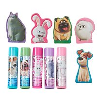 Girls 4-16 DreamWorks The Secret Life of Pets 5-pk. Lip Balm & Finger Puppet Set