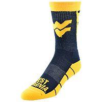 Men's Mojo West Virginia Mountaineers Energize Crew Socks