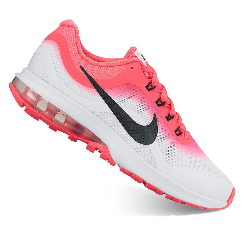 Nike Air Max Dynasty 2 Grade School Girls' Running Shoes, Size: 4, Red thumbnail