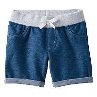 Girls 4-10 Jumping Beans® Faux Denim Jeggings Shorts