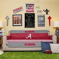 Alabama Crimson Tide Quilted Sofa Cover