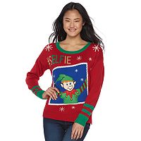 Juniors' It's Our Time Musical Christmas Sweater