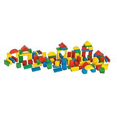 Eichhorn Heros 100-Piece Color Wooden Blocks by