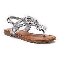 SO® Breeze Girls' Slingback Sandals