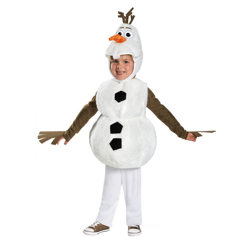 Disney's Frozen Olaf Baby Costume, Infant Unisex, Size: 12-18MONTH, Multicolor