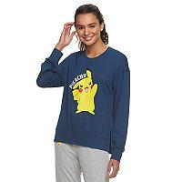 Juniors' Pokémon Pikachu Waving Graphic Sweatshirt