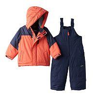 Baby Boy OshKosh B'gosh® Heavyweight Fleece-Lined Jacket & Bib Snow Pants Snowsuit Set