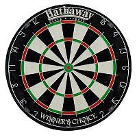 Hathaway Winners Choice 18-Inch Sisal Fiber Bristle Dartboard