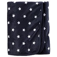 Baby Girl Carter's 30 x 40 Reversible Patterned Sherpa Blanket