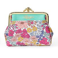Buxton Floral Framed Coin Wallet