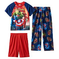 Boys 4-10 Marvel Avengers 3-Piece Pajama Set