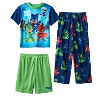 Boys 4-6 PJ Masks 3-Piece Pajama Set
