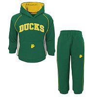 Infant Oregon Ducks Lil' Fan 2-Piece Fleece Hoodie & Pants Set