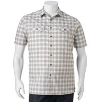 Big & Tall Croft & Barrow® Classic-Fit Plaid Outdoor Performance Button-Down Shirt
