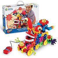 Learning Resources Gears! Gears! Gears! Wacky Wigglers Motorized Building Set